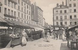 LYON La Croix Rousse Place Du Marché Circulée - Lyon 4