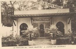 Paris    Le Pavillon Du Café CMartin à L'Eposition Colonial - Francia