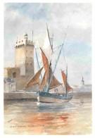 85 - Les Sables D'Olonne - D'après Aquarelle De M Droy - Voir Scans Recto-Verso - Sables D'Olonne
