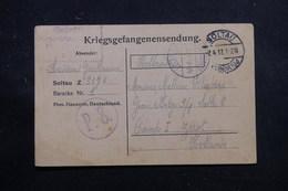 BELGIQUE - Carte De Prisonnier  Du Camp De Hannover Pour Les Pays Bas En 1917 - L 56079 - WW I