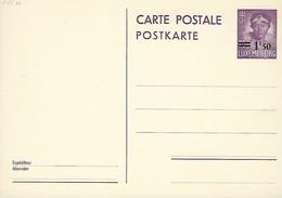 Luxembourg  -  Carte Postale - Postkarte -  1945 - Carte Vierge - Entiers Postaux