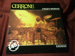 CERRONE  ° CYCLE'S WOMAN  / EXODUS - 45 T - Maxi-Single
