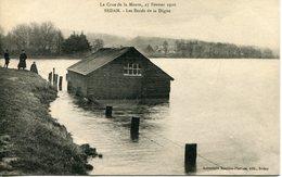 SEDAN. Crue 1910. Les Bords De La Digue - Sedan