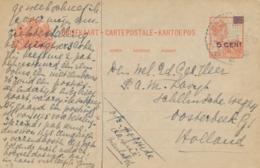 Nederlands Indië - 1929 - 5 Op 12,5 Cent Wilhelmina, Briefkaart G42 Van LB MEULABOH Naar Oosterbeek / Nederland - Indes Néerlandaises