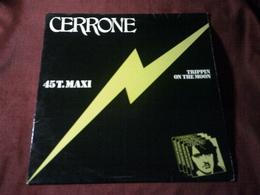 CERRONE  °  TRIPPIN ON THE MOON - 45 T - Maxi-Single