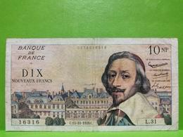 France. 10 Francs Richelieu 1959.  L31 - 1959-1966 Francos Nuevos