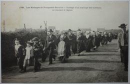 Les Mariages Plougastel Cortège Se Rendant à L'église - Plougastel-Daoulas