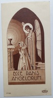 Images (2) Pieuses Souvenir Communion Solennelle Denis Et Maryse Rigaut Dricourt 12 Mai 1940 Boumard MP 6067 - Images Religieuses