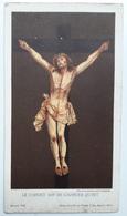 Image Pieuse (chromo Vers 1900) : Jésus Crucifié Le Christ Dit De Charles Quint Série H 9 Maison De La Bonne Presse - Santini