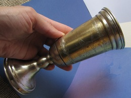 Antique Old Latvia Goblet Cup Sports Reward Athletic Gymnastics Physical Training SPORT - Athletics
