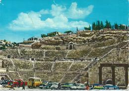 Jordan - Amman - The Roman Amphitheatre. Canceled Ar-Ramtha - Jordanien