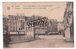 Leuven (markt - Zijde Naar De Bondgenotenlaan) Zeldzaam   Uitg. Luken N° 20 - Leuven