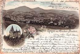 BADEN-BADEN - GRUSS AUS 1894 /ak600 - Baden-Baden
