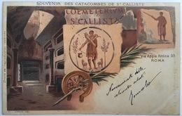 V 72562 - Roma - Souvenir Des Catacombes De St. Calliste - Roma (Rome)