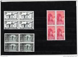 España Nº 2229 Al 2231 En Bloque De Cuatro - 1931-Heute: 2. Rep. - ... Juan Carlos I
