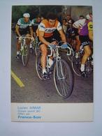 CARTE POSTALE Ancienne : CYCLISME TOUR DE FRANCE /  LUCIEN AIMAR - GROUPE SPORTIF BIC / FRANCE SOIR - Ciclismo