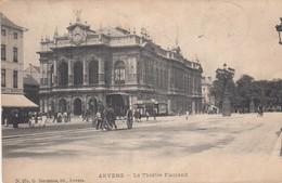 ANTWERPEN / VLAAMSE SCHOUWBURG  / TRAM / TRAMWAYS  1907 - Antwerpen