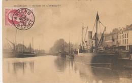 BRUXELLES / BRUSSEL / LE BASSIN DE L ENTREPOT 1907 - Transport (sea) - Harbour