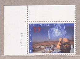 1997 Nr 2692** Drukdatum,postfris.Blauwhelmen. - Coins Datés