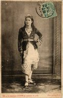 CPA AK Leroux 129 La Danseuse Zouina En Costume De Gala ALGERIE (832338) - Women