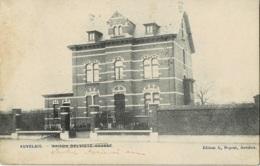Auvelais Maison Delvigne-Hausse Ciirculée En 1912 - Sambreville