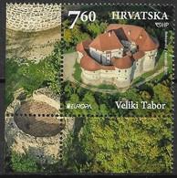 Croatia 2017. Scott #1036 (U) Europa: Veliki Tabor Castle - Kroatië