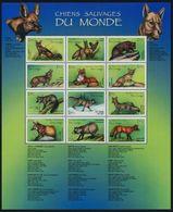 Congo (Kinshasa), 2000, Dogs,  Sheet  20 Euro - Dogs