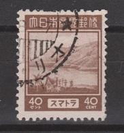 Nederlands Indie Dutch Indies Japanse Bezetting Sumatra 10 Used ; Netherlands Indies Japanese Occupation JS10 - Indonesien