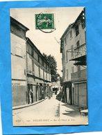 SOLLIES PONT-rue De L'hotel  De Ville -animée -beau Plan- -a Voyagé En 1912-édit ELD - Sollies Pont