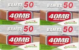 KENYA - 50 Airtime Or 40MB, Safaricom Card , Expiry Date:09/11/2014, Used - Kenya