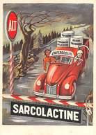"09014 ""SARCOLACTINE - ANTISETTICO INTESTINALE - PUBBLICITA' FARMACEUTICA POSTALE"" ORIG - Unclassified"