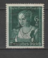 """Deutsches Reich / 1939 / Mi. 700 """"Tag Der Deutschen Kunst"""" Gestempelt (AL01) - Usados"""
