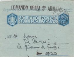 Italien Feldpost / Zensur Brief 1940-44 - Italia