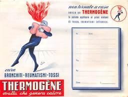 """09018""""THERMOGÈNE OVATTA CHE GENERA CALORE - LA THERMOGÈNE S. A. BELGIQUE"""" PORTFOLIO ORIG. PER MEDICINALI - Unclassified"""
