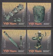 2018 Vietnam National Treasures Archaeology  Complete Set Of 4 MNH - Vietnam