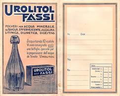 """09020 """"UROLITOL FASSI / PASTIGLIE PETTORALI FASSI - IST. CHIMICO FARMAC. FASSI - MILANO"""" PORTFOLIO ORIG. PER MEDICINALI - Unclassified"""