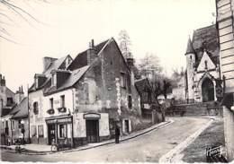 37 ST CYR / LOIRE Croisement RN 152 Et Route De La Bechellerie ( Café Tabac Pompes Essence ) Jolie CPSM GF - Indre Loire - Saint-Cyr-sur-Loire