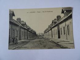 CPA 62 AUCHEL Fosse 5 Rue De Strasbourg   TBE  Mine Mineur Charbon - France
