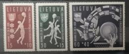 Lituanie 1939 / Yvert N°370-372 / * - Lituanie