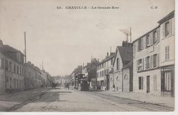 CPA Chaville - La Grande Rue (avec Tram) - Chaville