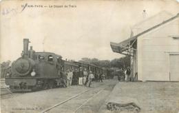AIN TAYA LE DEPART DU TRAIN GARE ALGERIE - Algérie