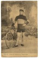 19 - Henri Hanlet, Champion Belge 1910 - Cycling