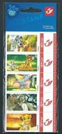 Duostamp. Pochette 5 Timbres Prior. Disney Animal Friends.  En Parfait état. Scan Recto/verso. - Belgique