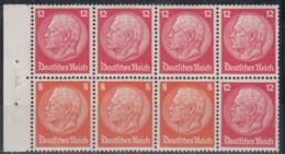 DR Heftchenblatt 78, Postfrisch **, Hindenburg 1933 - Alemania
