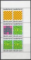 NIEDERLANDE Block 12, Postfrisch **, Gesellschaftsspiele 1973 - Bloks