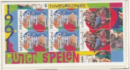 NIEDERLANDE Block 35, Postfrisch **, Für Das Kind: Spiele Im Freien 1991 - Bloks