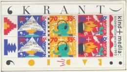 NIEDERLANDE Block 39, Postfrisch **, Das Kind Und Die Medien 1993 - Bloks