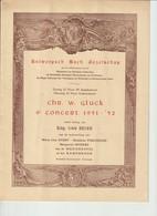 Antwerpsch Bach Gezelschap 4de Concert 1951-1952 - Théâtre