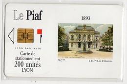PIAF LYON - Ref PASSION PIAF 69000-8 Date 03/93 - Francia