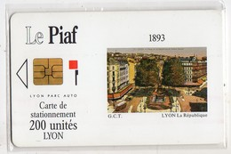 PIAF LYON - Ref PASSION PIAF 69000-7 Date 03/93 - Francia